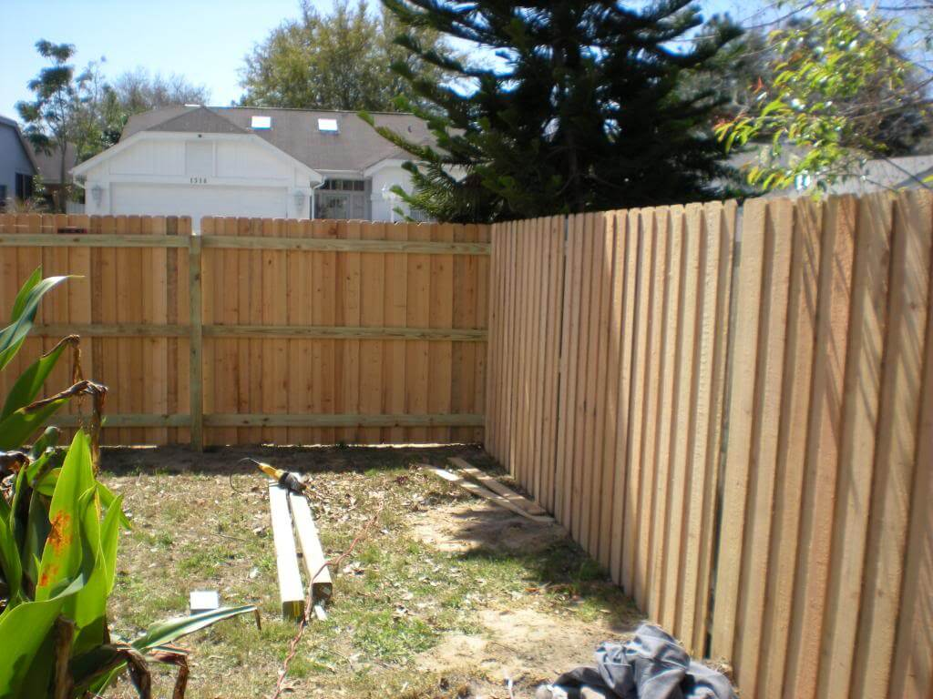 A1 Fence Solutions Vinyl Wood Chain Link Iron