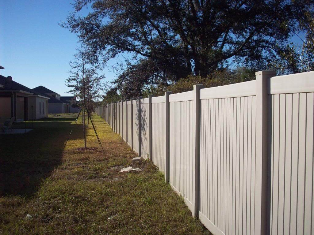 A1 fence solutions vinyl wood chain link iron aluminum fences gates - Pvc fencing solutions ...