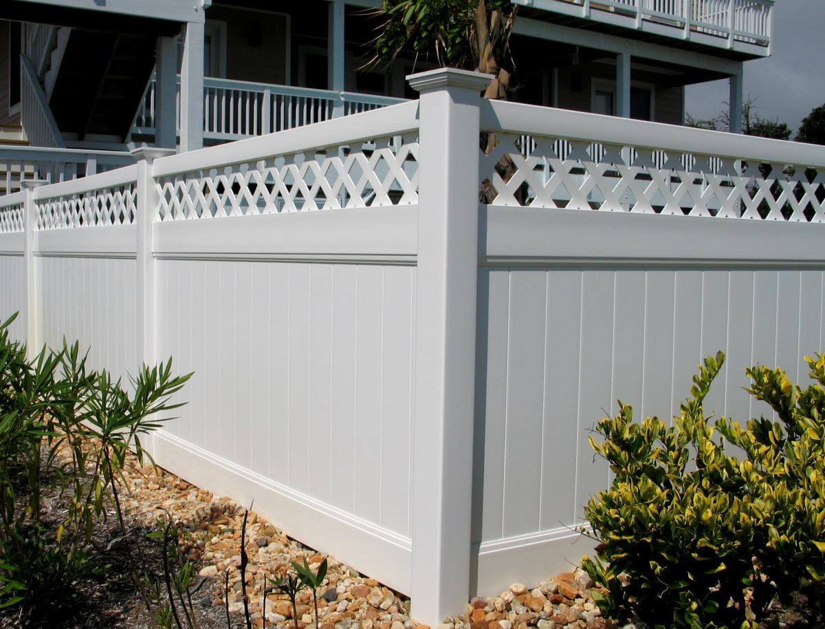 A1 fence solutions vinyl wood chain link iron aluminum get the updated look you want without the added maintenance or expense with our ply gem vinyl fencing baanklon Gallery